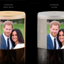Limited Commemorative Wedding gifts with Harry and Meghan Available at the Rose