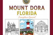 Aug. 09, 2019 Author signing of the first Mount Dora coloring Book with Bibi LeBlanc… 2pm @ The Windsor Rose!