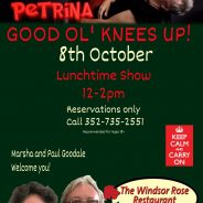 Lunch time fun on 10-08-20 with Petrina! Good Fun! Noon- 2:00 pm
