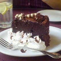 Chocolate Corruption Cake