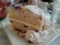 Lemon Blueberry Mascarpone Cake